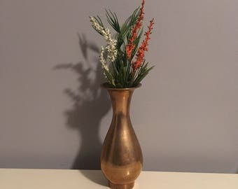 Medium Size Brass Vase