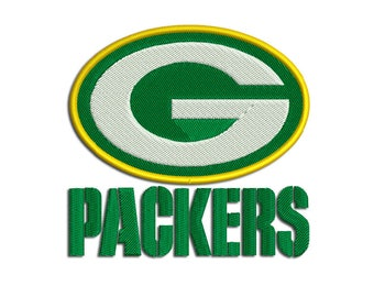 Green Bay Packers - American football: Machine embroidery design