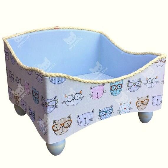 Cat Bed Floor Bed Pet Bed Open Style Cat Lounge Bed