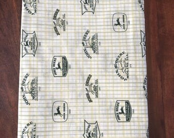 John Deere Crib Toddler Sheet