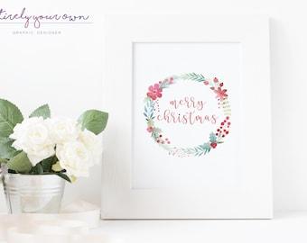 Merry Christmas | Print