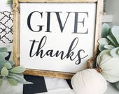 Give Thanks | Fall | Autu...