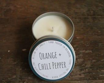 Orange + Chili Pepper