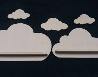 Nursery decor,Cloud,Cloud shelves,bedroom decor, childrens bedroom,girls bedroom,boys bedroom,baby Nursery,Cloud shelf,freestanding cloud,