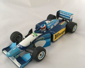 Formula 1 model car, Michael Schumacher, Benetton Ford 194B, Minichamps car, Sports racing car, collectable car, 1:18 scale model car,