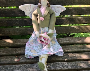 Garden Angel Doll