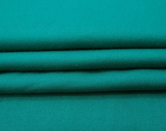 "Antique Teal Green Fabric, Indian Decor, Dress Fabric, Quilt Material, Sewing Fabric, 41"" Inch Rayon Fabric By The Yard PZBR5C"