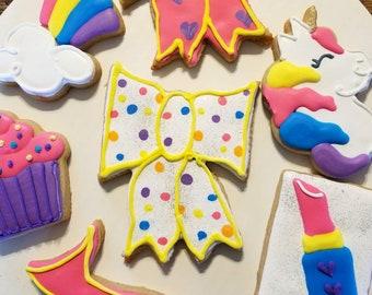 Big bows cookies (12)