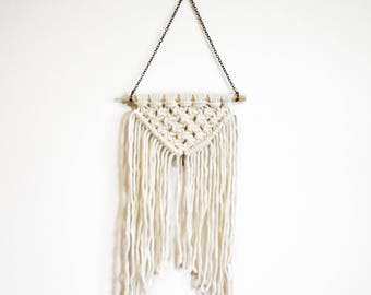 MACRAME Mini Wall Hanging || Home Decor || Bohemian || Decoration || Gift || Nursery || Bedroom || Woven || Beach