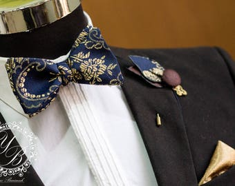 Formal Wear Men's Bow tie Set