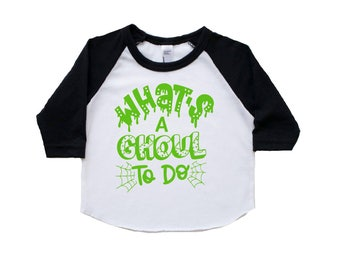 girls Halloween shirt, Halloween shirt for girls, Halloween shirt toddler girls, girls halloween outfit, Halloween raglan, tee, baby girl