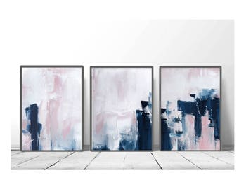 Abstract Wall Art Etsy