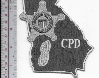US Secret Service USSS President Jimmy Carter Protective Detail 1977 to 1981 Agent Service Patch grey