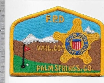 US Secret Service USSS President Gerald Ford Protective Division Vail & Palm Springs Vacation