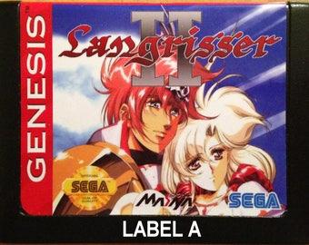 Langrisser II - SEGA Genesis Reproduction