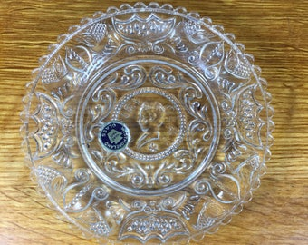 Westmoreland  Glass Henry Clay Plate