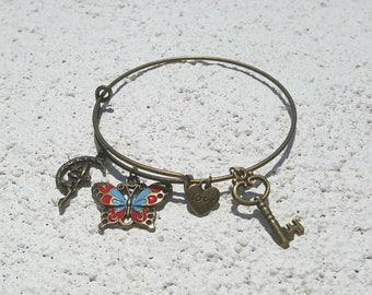 Butterfly Fairy Bracelet * Secret Garden Bangle