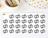 Money Planner Stickers | Made to fit the Bullet Journals, Erin Condren Life Planner, Plum Paper Planner & More. 710S