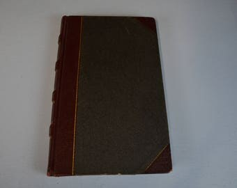 Vintage 1934 Journal, Old Bookkeeping from Depression Era, Ephemera early 1900s,  #478