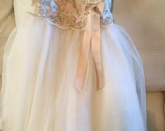 Flower girl dress 2T