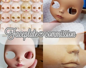 First payment Blythe faceplate commission service