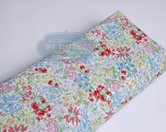 Colorful Japanese floral liberty fabric