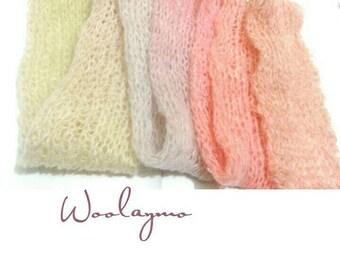 Woman scarf Winter scarf Shawl Wool scarf Mohair shawl Ombre scarf Rainbow scarf Knit scarf Long scarf Long shawl Puffy shawl Fluffy scarf