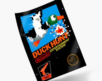 Duck Hunt NES Print