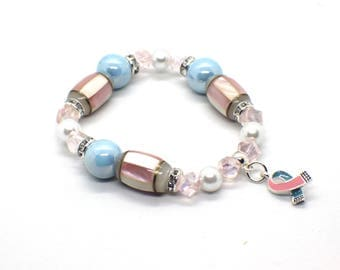 Miscarriage Gift - Miscarriage Jewelry - Miscarriage Bracelet - Miscarriage Memorial - Miscarriage Keepsake - Miscarriage Awareness
