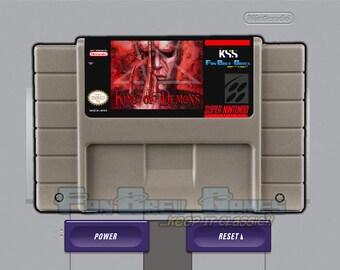 """SPECIAL ORDER! """"King Of Demons"""" Unreleased Super Nintendo SNES Platformer FanBrew Games!"""