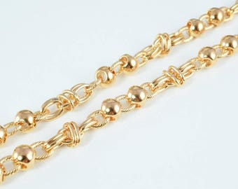 """18K Gold Filled Chain 19.25"""" Inch CG138"""