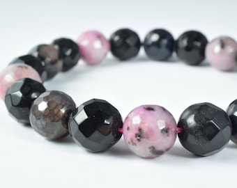 12mm Deep Purple Light Pink Lace Agate Stone Beads, Sold by 1 strand of 20pcs, Round Stone Beads, Semi Precious, Gemstone,