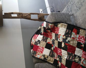 Japanese patchwork blanket