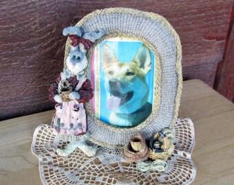 Rabbit Picture Frame | Girl's Bedroom Decor
