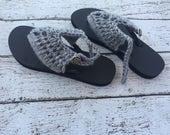 Crochet Sandals PATTERN -...
