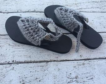 Crochet Sandals PATTERN - Crochet Flip Flops - Crochet Pattern - Sandals Pattern - Easy Crochet Pattern - Beginner Crochet Pattern
