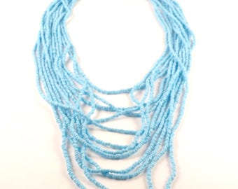 Turquoise handmade necklace