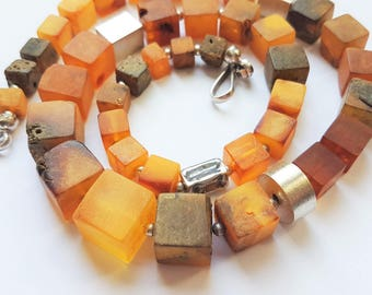 Baltic Amber Necklace,42g