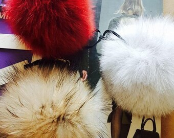 Fox Fur Pompom