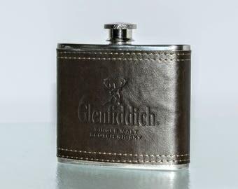 Vintage Glenfiddich Hip Flask