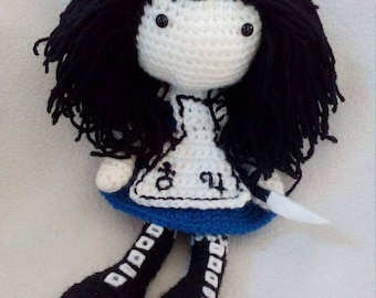 Alice The Madness Returns Crochet Doll