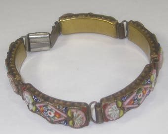 T-24  antique  Bracelet size 6 made in Italy