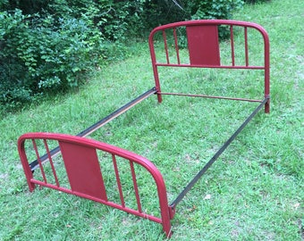 midcentury cast iron bed frame headboard and footboard cast iron full size bed frame