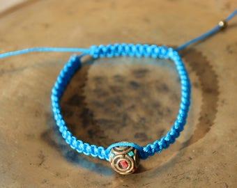 Bracelet Bead Tibetan and turquoise beads