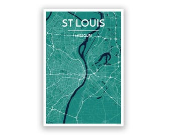 St Louis In Us Map - St louis on us map
