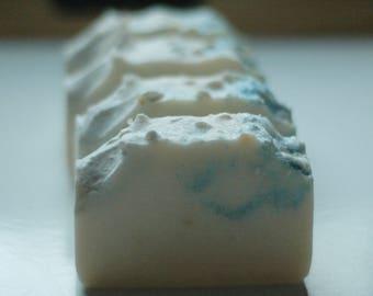Mr Darcy's WHITE LINEN Bar Soap | Jane Austen | Pemberley Pond | Colin Firth Wet White Shirt | Pride and Prejudice | Handmade Soap | Lake