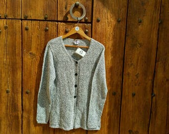 in recycled cotton Cardigan