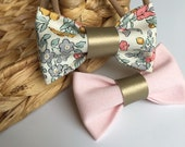 Liberty floral hair bows, liberty of london fabric hairbows on clips, floral baby hair bow headbands, liberty floral fabric bows
