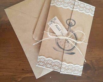 20 x Personalised Alice In Wonderland Invitations... Perfect for Weddings, Birthday, Christenings etc!