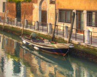 Venice, Italy Canal Boat